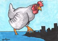 The Chicken Who Stomped The City